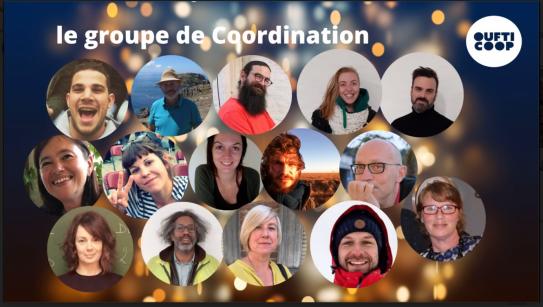 Photos des membres de l'organe de coordination décembre 2020